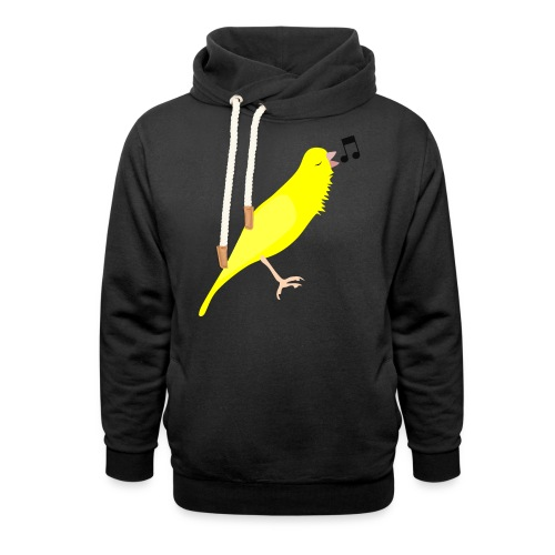 Zangkanarie - Sjaalkraag hoodie