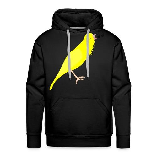 Zangkanarie - Mannen Premium hoodie