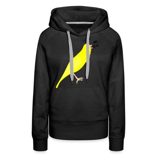 Zangkanarie - Vrouwen Premium hoodie