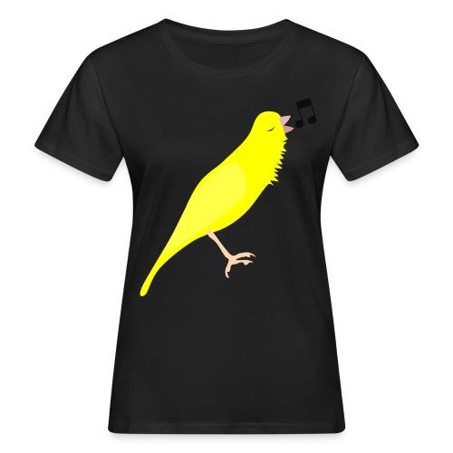 Zangkanarie - Vrouwen Bio-T-shirt