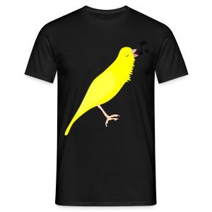 Zangkanarie - Mannen T-shirt