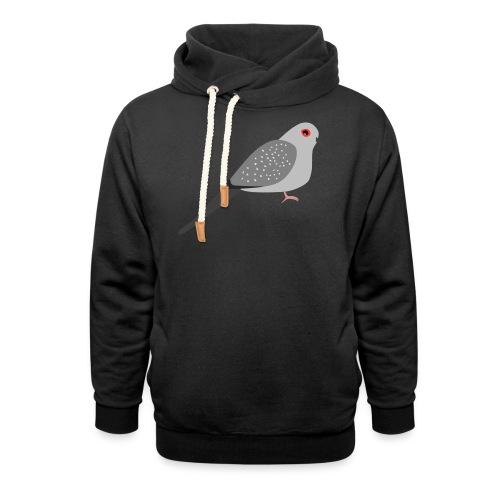 Duif - Sjaalkraag hoodie
