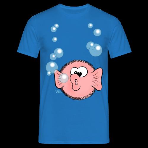 Kugelfisch  - Männer T-Shirt