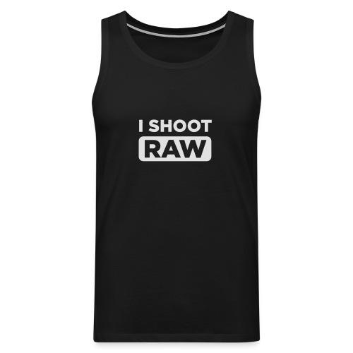 I SHOOT RAW - Männer Premium Tank Top