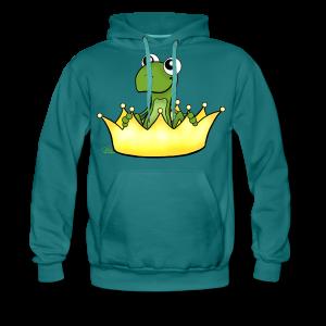 Froschikönig  - Männer Premium Hoodie