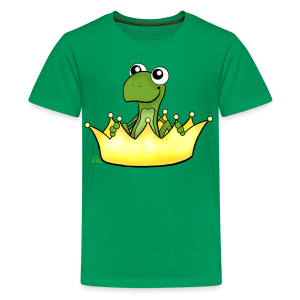 Froschikönig  - Teenager Premium T-Shirt