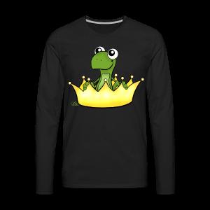 Froschikönig  - Männer Premium Langarmshirt