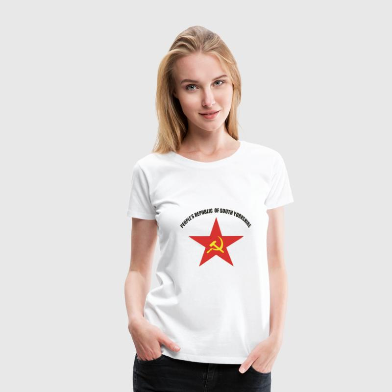 People's Republic of South Yorkshire - Women's Premium T-Shirt