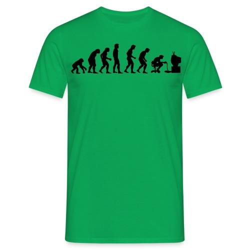 Gamers Evolution Green - Maglietta da uomo