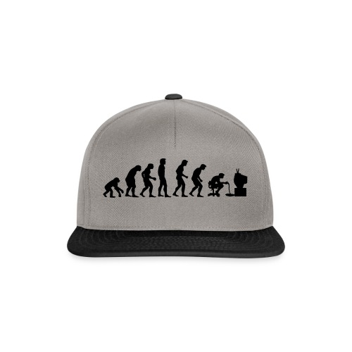 Gamers Evolution Green - Snapback Cap