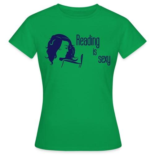 Reading is sexy Shirt - Frauen T-Shirt