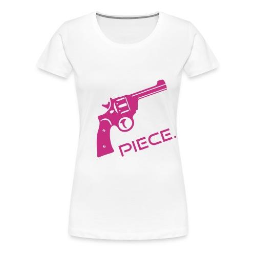 Revolver-Piece T-Shirt - Frauen Premium T-Shirt