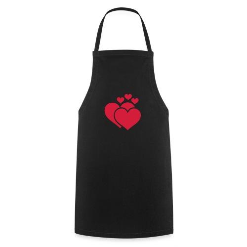 T-shirt Femme Famille de coeur - Family of hearts. - Tablier de cuisine