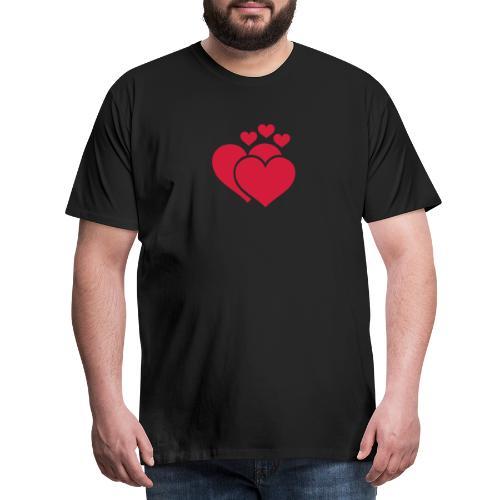 T-shirt Femme Famille de coeur - Family of hearts. - T-shirt Premium Homme