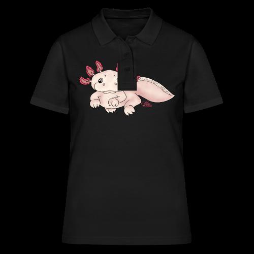Axenia Axolotl  - Frauen Polo Shirt
