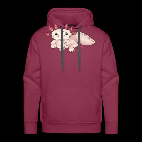 Axenia Axolotl  - Männer Premium Hoodie