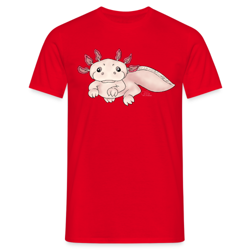 Axenia Axolotl  - Männer T-Shirt