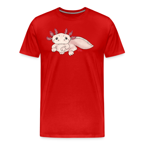 Axenia Axolotl  - Männer Premium T-Shirt