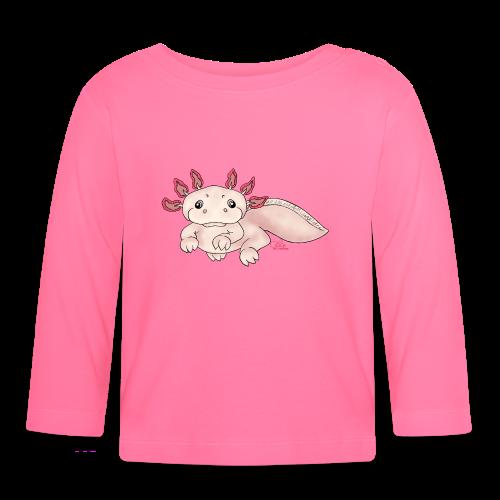 Axenia Axolotl  - Baby Langarmshirt