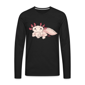 Axenia Axolotl  - Männer Premium Langarmshirt