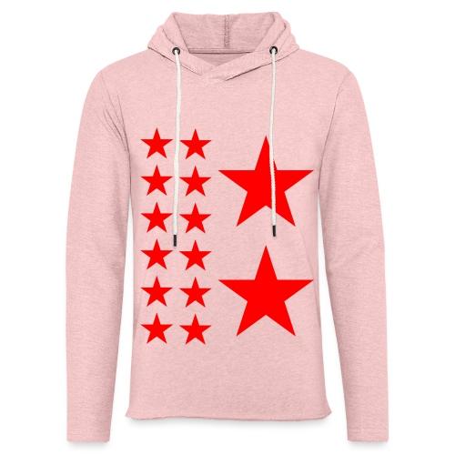 Red Stars T-shirt Homme. - Sweat-shirt à capuche léger unisexe