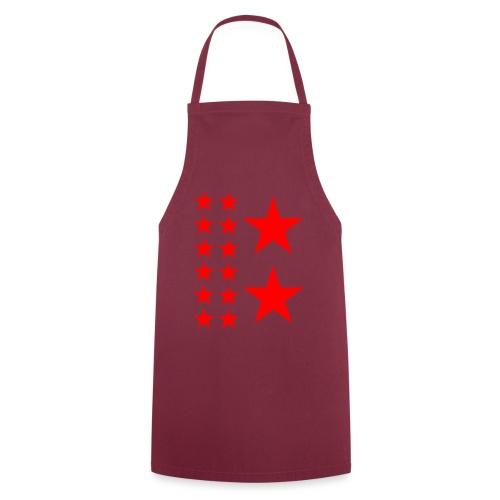 Red Stars T-shirt Homme. - Tablier de cuisine