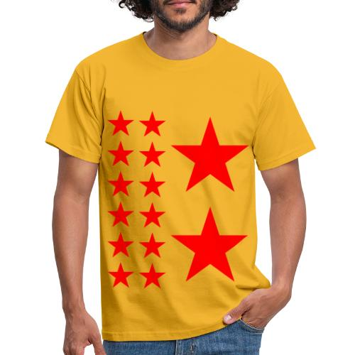 Red Stars T-shirt Homme. - T-shirt Homme