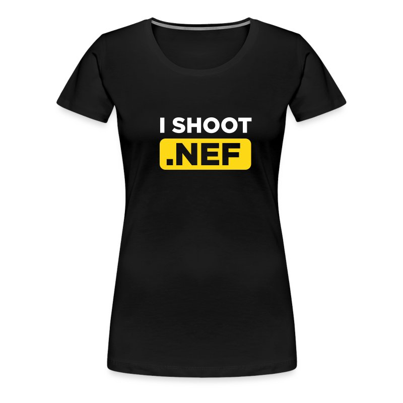 I SHOOT NEF - Frauen Premium T-Shirt