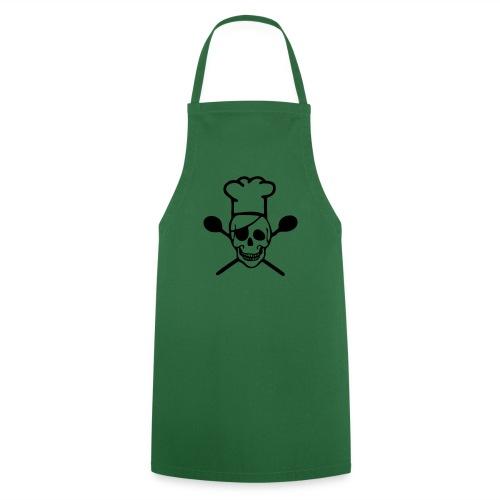 Kochschürze - Chefkoch,Koch,Skull,Totenkopf