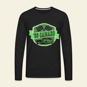 Camaro Logo  - Herre premium T-shirt med lange ærmer