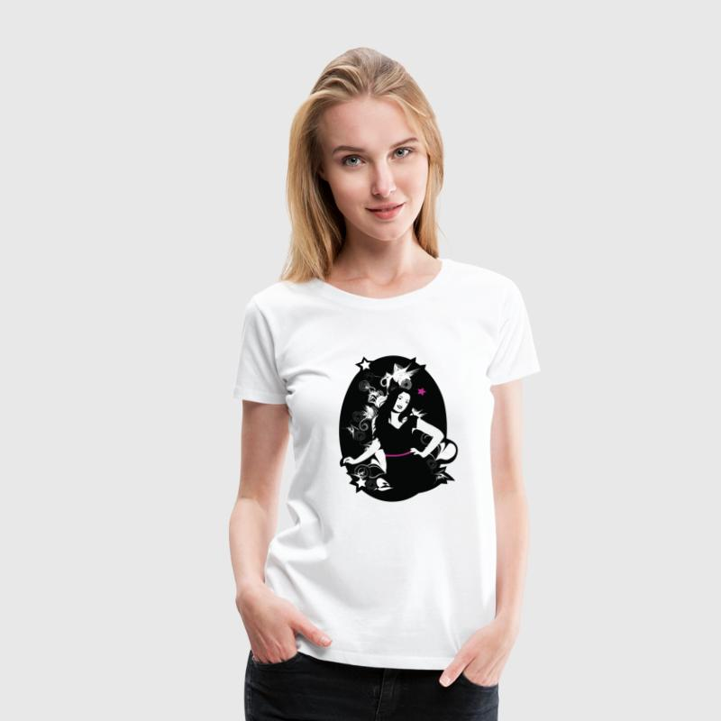 Girl power T-shirts - T-shirt Premium Femme