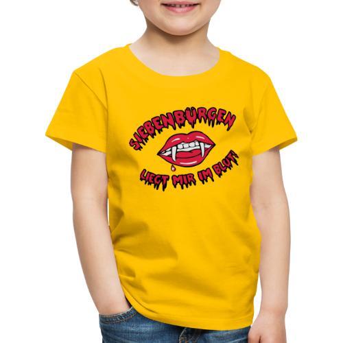 Siebenbürgen - liegt mir im Blut - Kinder Premium T-Shirt