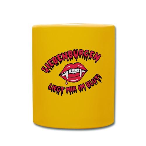 Siebenbürgen - liegt mir im Blut - Tasse einfarbig
