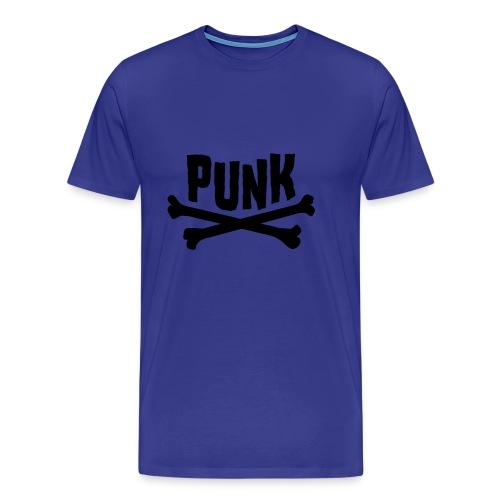 Punk divablau - Männer Premium T-Shirt