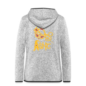 ASNC Society Brooch Logo - Women's - Women's Hooded Fleece Jacket