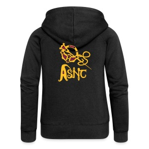 ASNC Society Brooch Logo - Women's - Women's Premium Hooded Jacket