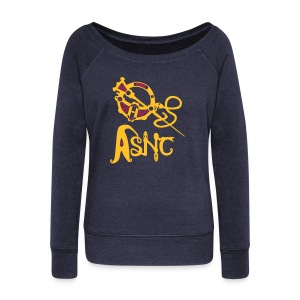 ASNC Society Brooch Logo - Women's - Women's Boat Neck Long Sleeve Top