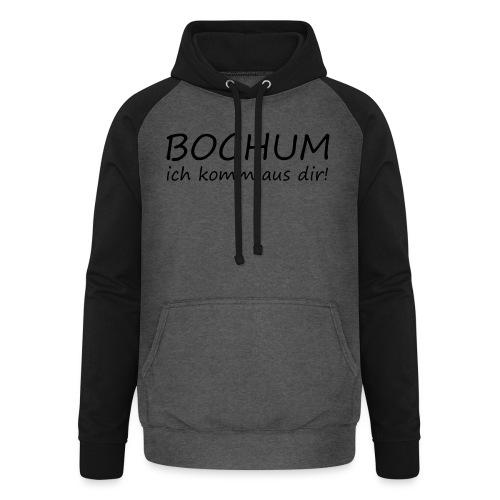 Girlieshirt - BOCHUM  - Unisex Baseball Hoodie