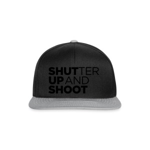 SHUTTER UP AND SHOOT - Snapback Cap