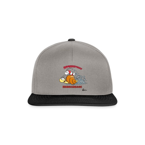 Rennschnegge - Snapback Cap