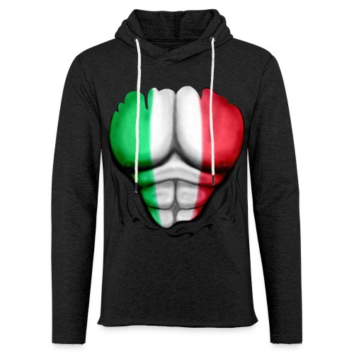 Mexico Flag Ripped Muscles, six pack, chest t-shirt - Light Unisex Sweatshirt Hoodie