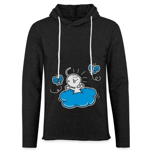 Damesshirt Wolkje - Lichte hoodie unisex