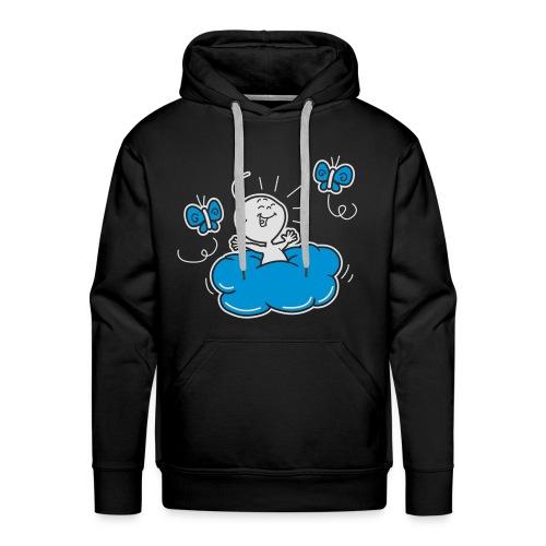 Damesshirt Wolkje - Mannen Premium hoodie