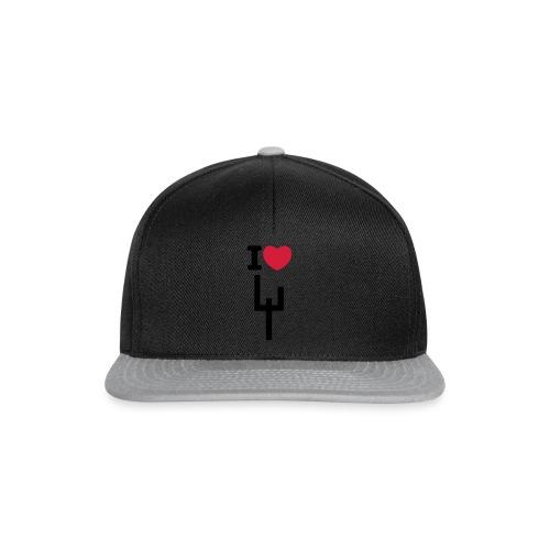 I heart megaduo - Snapback Cap