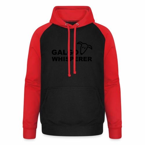 Galgowhisperer - Unisex Baseball Hoodie