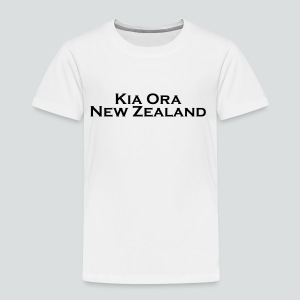Kia ora New Zealand - Kinder Premium T-Shirt