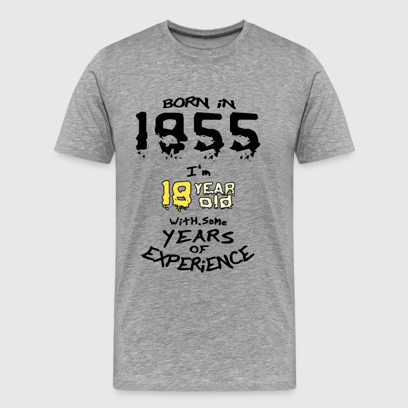 born in 1955 - Men's Premium T-Shirt