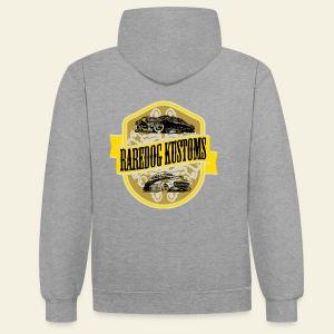 Raredog Kustoms - Kontrast-hættetrøje