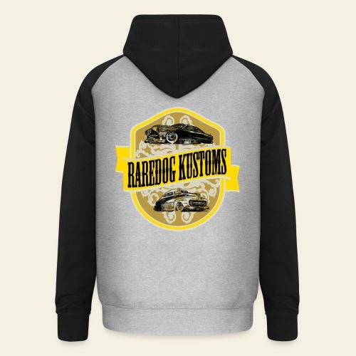 Raredog Kustoms - Unisex baseball hoodie