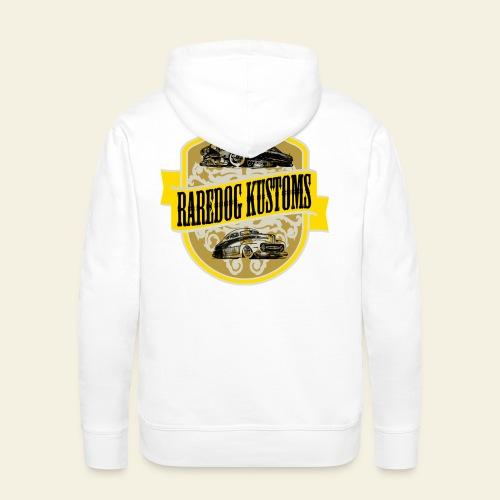 Raredog Kustoms - Herre Premium hættetrøje